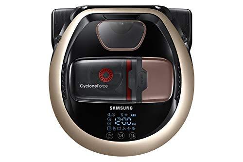 Samsung Powerbot R7090 Pet Robot Vacuum, 13.4in x 13.7in x 3.8in, Satin Gold (Renewed)