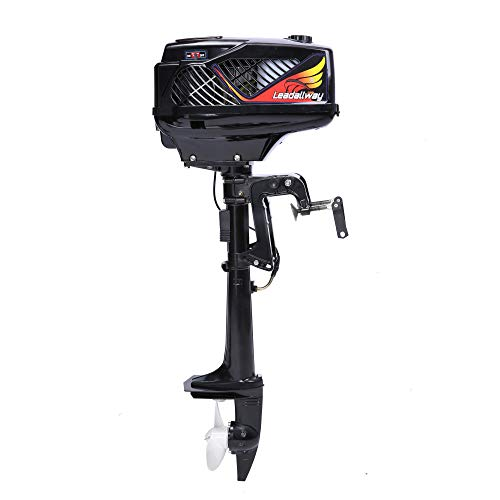 TwoFour Stroke Outboard Motor T36406HP Watering Coolinga&Air Cooling  Superior Boat Engine for Small Inflatable Boat