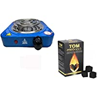 Hornillo 1000 W AZUL mas Kilo carbon Tom