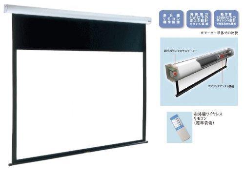 泉 電動式 80インチ サイレントモータードライブ式天吊スクリーン(アスペクト比4:3) IS-EV80 B003XTIBDI