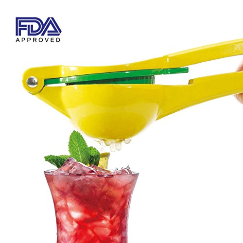 Kiartten Manual Citrus Press Juicer Top Rated Premium Quality Metal Lemon Lime Squeezer-FDA Approved by Kiartten