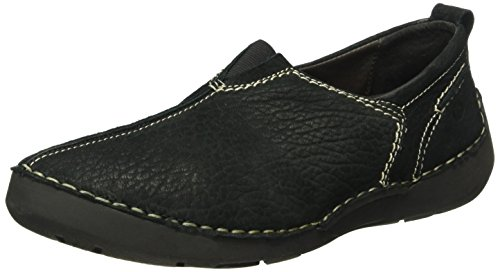 Josef Seibel Dames Fergey 12 Slipper Zwart (black 600)