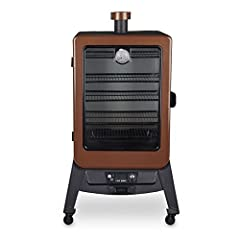 Pit Boss has done it again! we have completely changed the vertical smoking game! our new vertical pellet smoker line is like nothing seen before. We have integrated the top loading pellet Hopper to the rear of the smoker, increased capacity ...