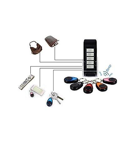 5 Buscador de Llaves con Alarma Acustica Key Finder con Sonido 40m