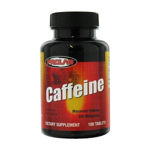 ProLab caféine onglets 200 mg, 100 comprimés (lot de 2)