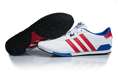 Adidas Zx 700 be lo w ftwwht/colred/boblue White Red Blue