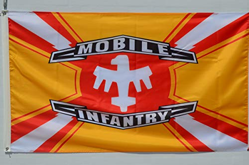 Astany Mobile Infantry and Federation Flag Starship Troopers 3x5ft Banner