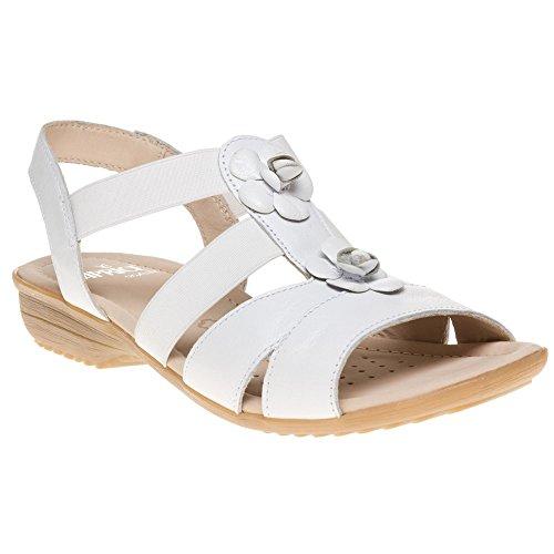Caprice 28652 Damen Sandalen Weiß