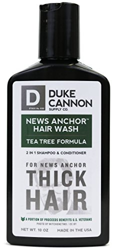 New Colony Bath (Duke Cannon News Anchor Thick 2-in-1 Hair Wash (Tea-Tree))