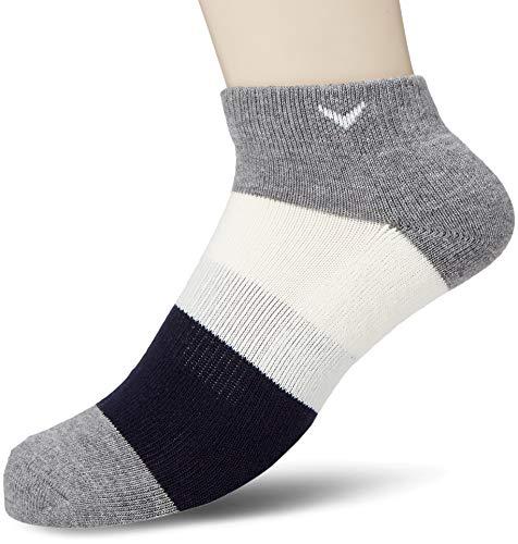 [キャロウェイ アパレル][メンズ] 防菌 防臭 アンクルソックス (ドラロン採用) / 241-8285502 / 靴下 ゴルフ メンズ