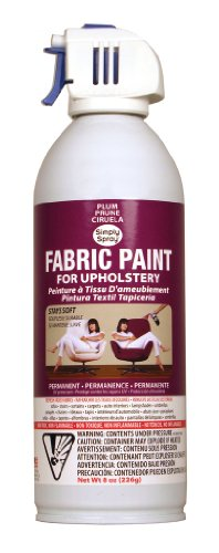 Plum Upholstery Fabric Paint