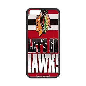 Printed Phone Case Chicago Blackhawks For iPhone 6 Plus 5.5 Inch M2X3113039