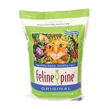 Feline Fresh Scoopable Clumping Pine Cat Litter