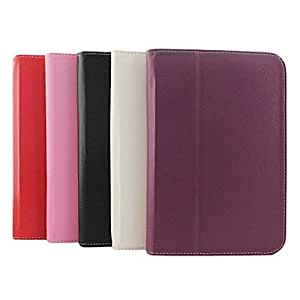 PEACH ships in 48 hours sold out Stylish Protective PU Leather Case for Samsung Galaxy Tab P5100(Assorted Colors) , Red