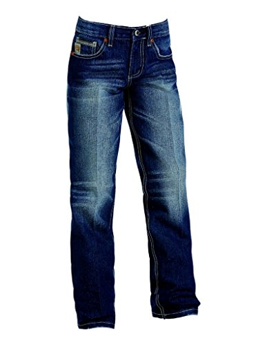 Cinch Boys' Indigo Sawyer Loose Fit Jeans Straight Leg Indigo 7 REG - Reg Fit Jeans