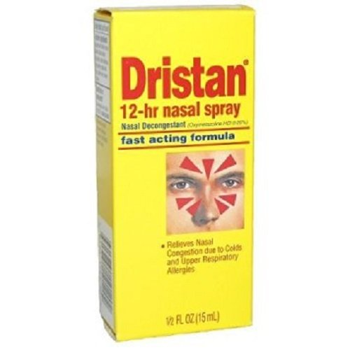 Dristan 12-Hr Decongestant Nasal Spray, 6 Count by Dristan