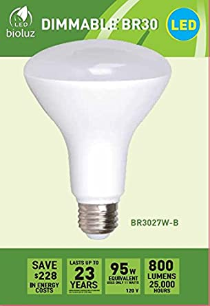 Br30 bright led light bulbs by bioluz led instant on warm white led br30 bright led light bulbs by bioluz led instant on warm white led 2700k aloadofball Gallery