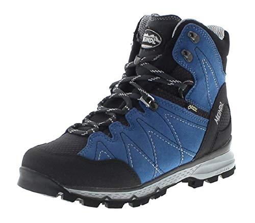 FB Fashion Boots Montalin Lady GTX - Zapatillas de Senderismo de Cuero para Mujer Azul Azul Azul Azur