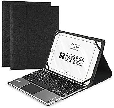 Subblim Funda con Teclado para Tablet, Negro, 10.1 Inch