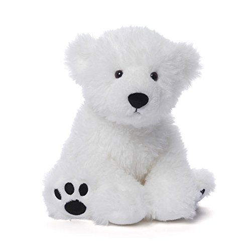 (GUND Fresco Polar Teddy Bear Stuffed Animal Plush, White, 10