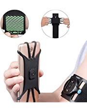 """CUBOT Running Armband, Compatible with 4.0""""- 6.5"""" Phone, Third Generation Portable Extra Stable Phone Armband for IPhone 8/7/6/X/XR/XS/Max/Plus etc"""