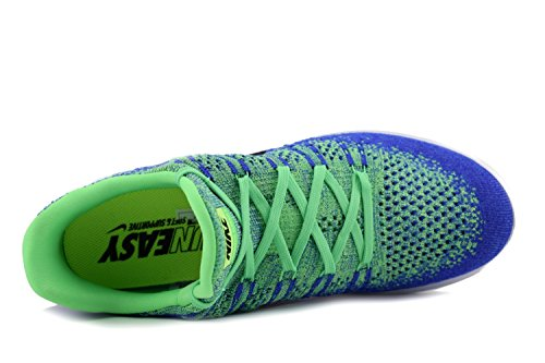 Low 2 Black Electro Lunarepic Shoes Running NIKE Flyknit Blue Mens Medium Green Atx5Zwxqz1