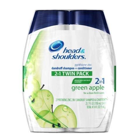 Head & Shoulders, Green Apple 2-In-1 Shampoo & Conditioner -