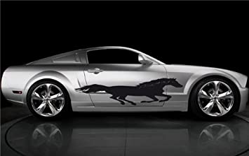 Amazoncom Car Vinyl Graphics Horse Mustang Car Side Vinyl - Auto graphic stickersdiscount auto graphic decalsauto graphic decals on sale at