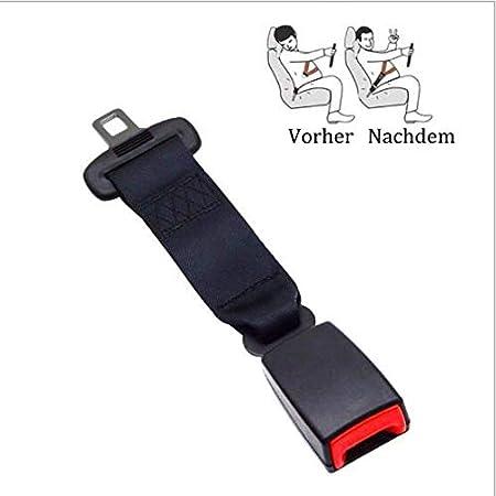 250mm L/änge Boomersun Universal Erweitern Auto Sicherheitsgurt Extender Gurtschloss Sitzgurte Buckle 1
