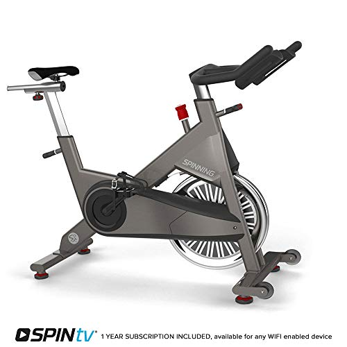 Spinner P1 Indoor Cycling Chain Drive Spin Bike with SPINtv Subscription