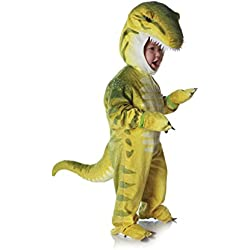 Underwraps Costumes Baby's T-Rex Costume Jumpsuit, Green, Small (6-12 Months)