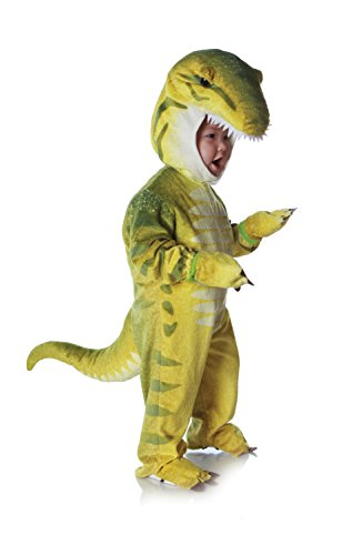 Underwraps Costumes Baby's T-Rex Costume Jumpsuit, Green, Large (2T-4T) for $<!--$28.98-->