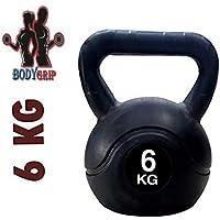 Bodygrip BGRIP5445 Kettlebell, 6Kg (Multicolour)