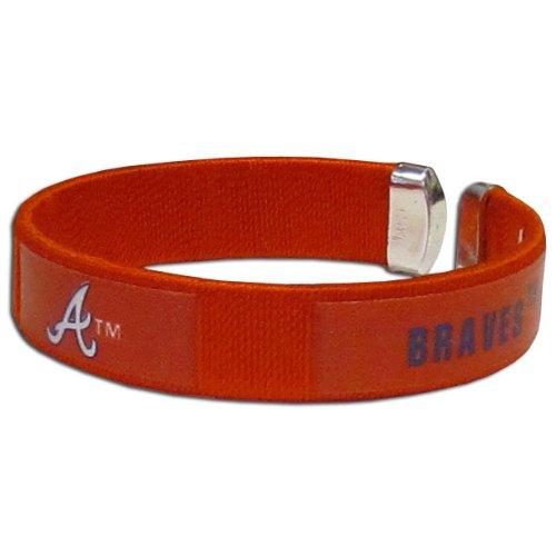 Siskiyou Atlanta Braves - MLB Fan Band Bracelet ()