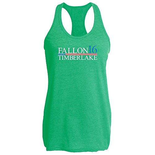 Pop Threads Fallon Timberlake 2016 Presidential Election Funny Heather Kelly 2XL Womens Tank Top