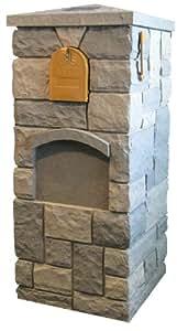 "NextStone 22"" Random Rock Mailbox Kit (Tri Gray)"