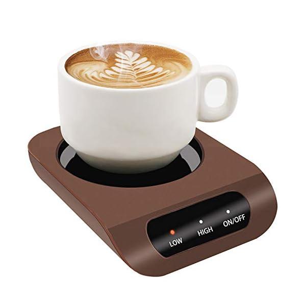 Calentador de taza de café de KUWAN   Letras y Latte - Libros en espa