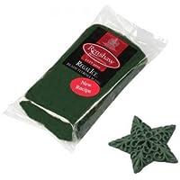 500 G, pasta de azúcar verde oscuro Regalice, para pasteles cubrir cera caliente