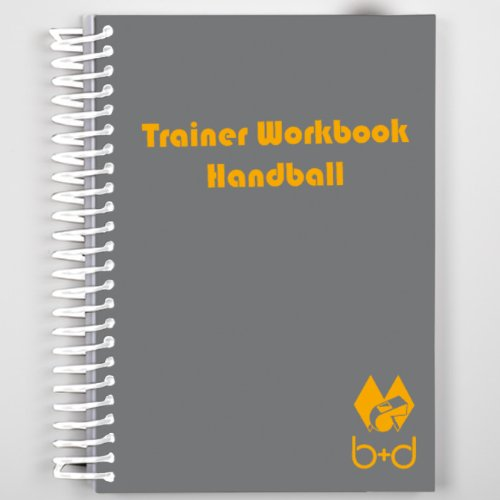 B& D - Quaderno per allenamenti di pallamano b+d Sportartikel b8017