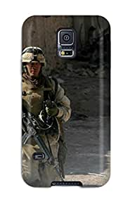 Hot Warzone Soldiers First Grade Tpu Phone Case For Galaxy S5 Case Cover