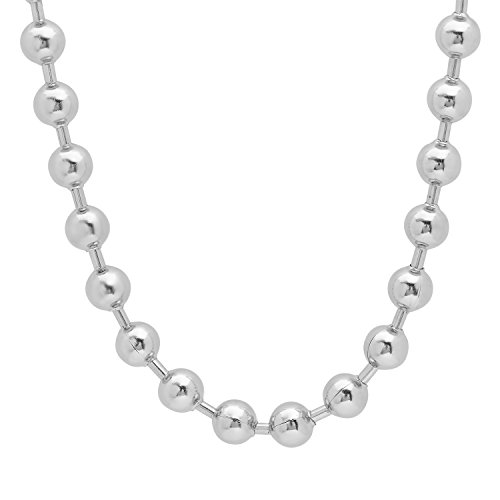 steel ball necklace - 8