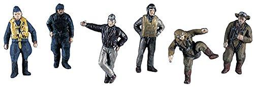 HASEGAWA 35008 1/72 WWII Pilot Figure Set