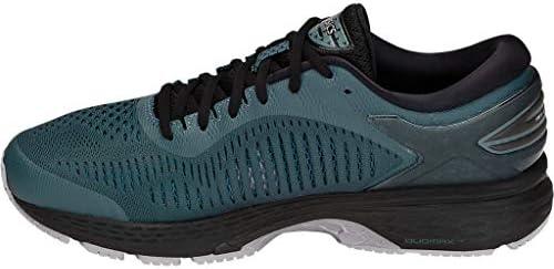 ASICS Men's Gel-Kayano 25 Running Shoes, 9.5M, IRONCLAD/Black 4