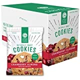 Green Plate Foods Gluten Free Cookies   Healthy Snacks Made With All Natural Ingredients - 16 Count (Cranberry Almond)