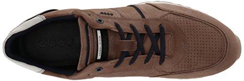 ECCO Sneak Men's, Zapatillas para Hombre Marrón (54711navajo Brown/marine)