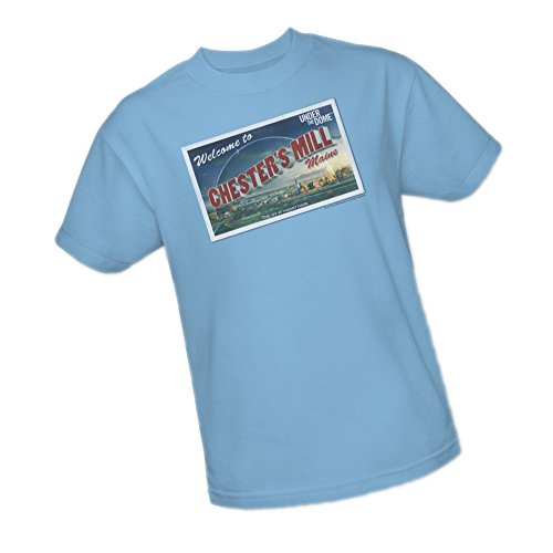 Postcard Dome - Postcard -- Under The Dome Adult T-Shirt, X-Large