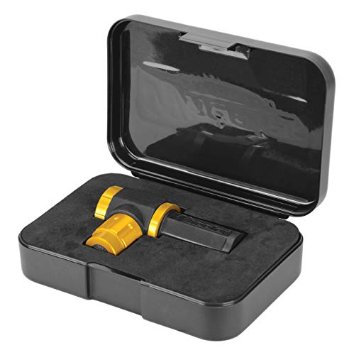 Wheeler Professional Laser Bore Sighter with Magnetic Connection, Multiple Caliber Usage and Storage Case for Scope Mounting, Gunsmithing and Maintenance