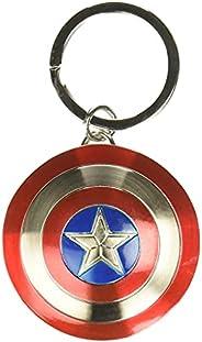 Marvel Chaveiro de estanho escudo do Capitão América