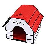 Dog House Universal Pet Cat Dog House Detachable Washable Puppy Bed Pet Nest Four Seasons