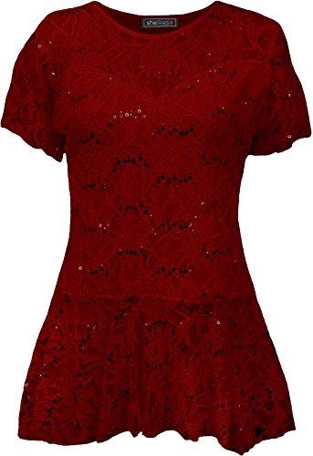 red SheLikes Femme Femme red Femme Chemisier SheLikes SheLikes Chemisier Chemisier vtztw